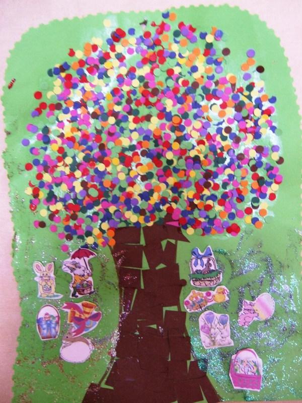 B paques decoration page 2 for Table de paques deco