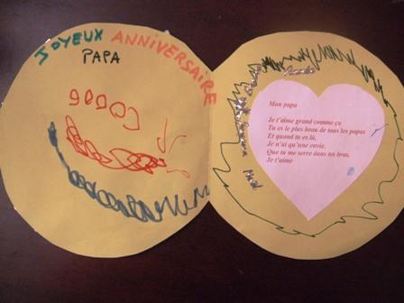 Dessin pour anniversaire papa colorier les enfants - Dessin d anniversaire pour papa ...