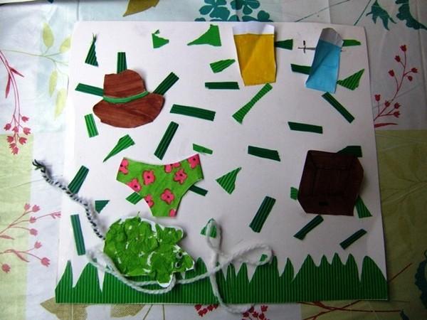 Comptine illustr e une souris verte centerblog - Coloriage souris verte ...