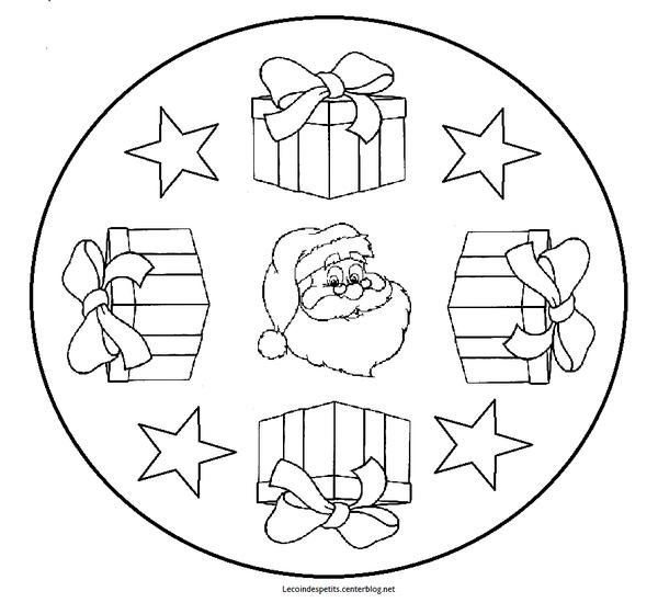 Mandala de noël