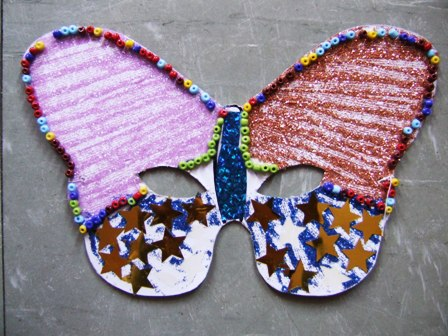 B carnaval les masques page 3 - Masque papillon carnaval ...
