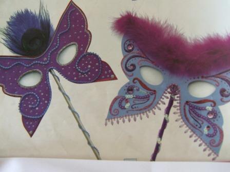 Masques papillons - Masque papillon carnaval ...